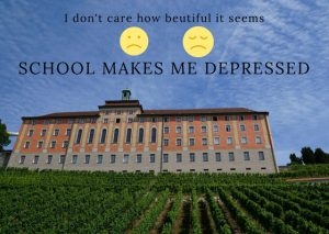 School Makes Me Depressed
