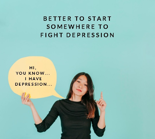 Speaking out depression