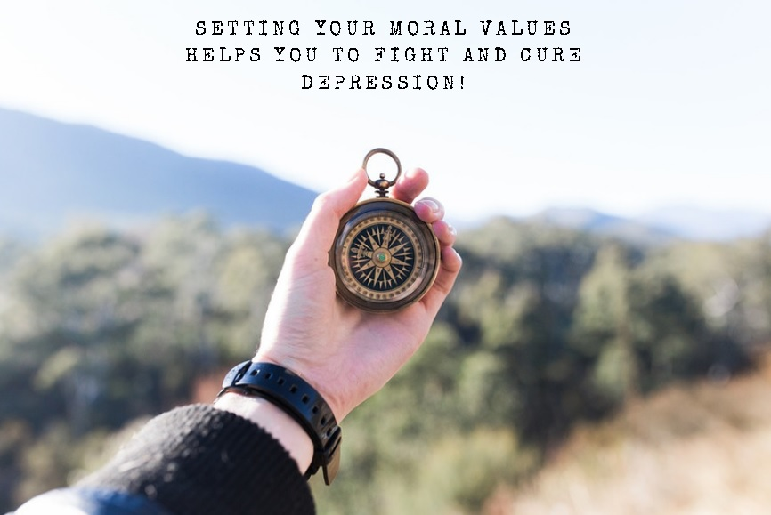 Moral Values to Fight and Cure Depression
